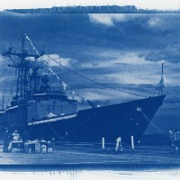 Cyanotype. Photo by Tom Hart. Used with Creative Commons Attribution 2.0 License.