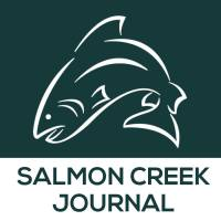 The 2014-2015 logo for the Salmon Creek Journal