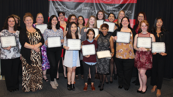 Women honored at campus celebration