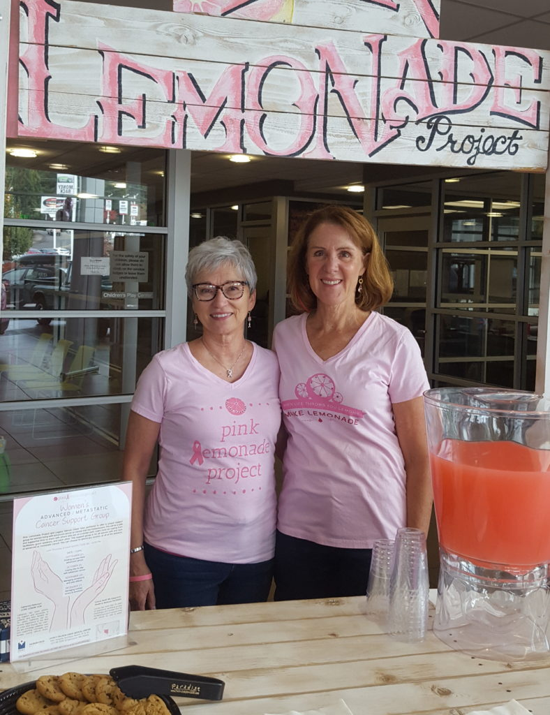 Survivors support breast cancer awareness month