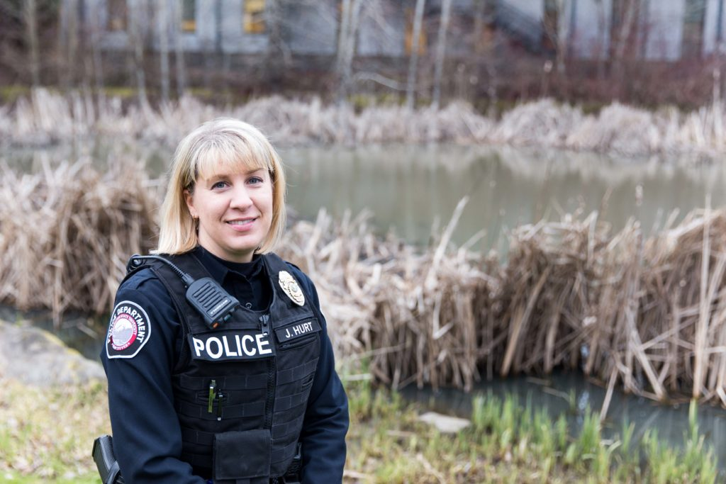 Meet Jeanette Hurt, the only female officer at WSU Vancouver